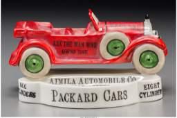 A Rare Porcelain Packard Bombay Dealer Advertising Pin