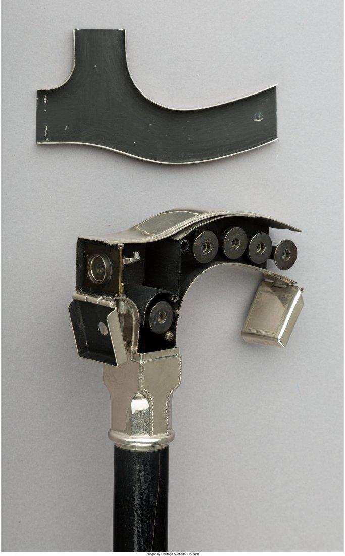 A Rare Lehmann Ben Akiba Chrome and Ebonized Wood Spy - 2