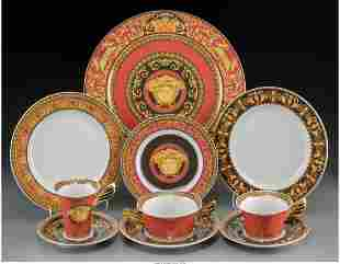 A One Hundred and Sixty-Six Piece Versace for Rosenthal