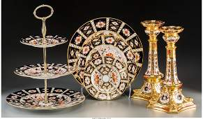 A Thirty-Nine Piece Royal Crown Derby Traditional and