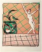 Peter Max (American, b. 1937) Ballet Story, 1981