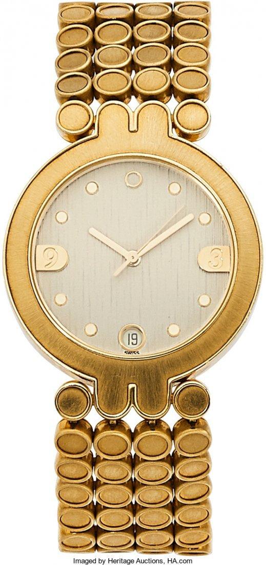 55102: Harry Winston Lady's Gold Classique Watch  Case: