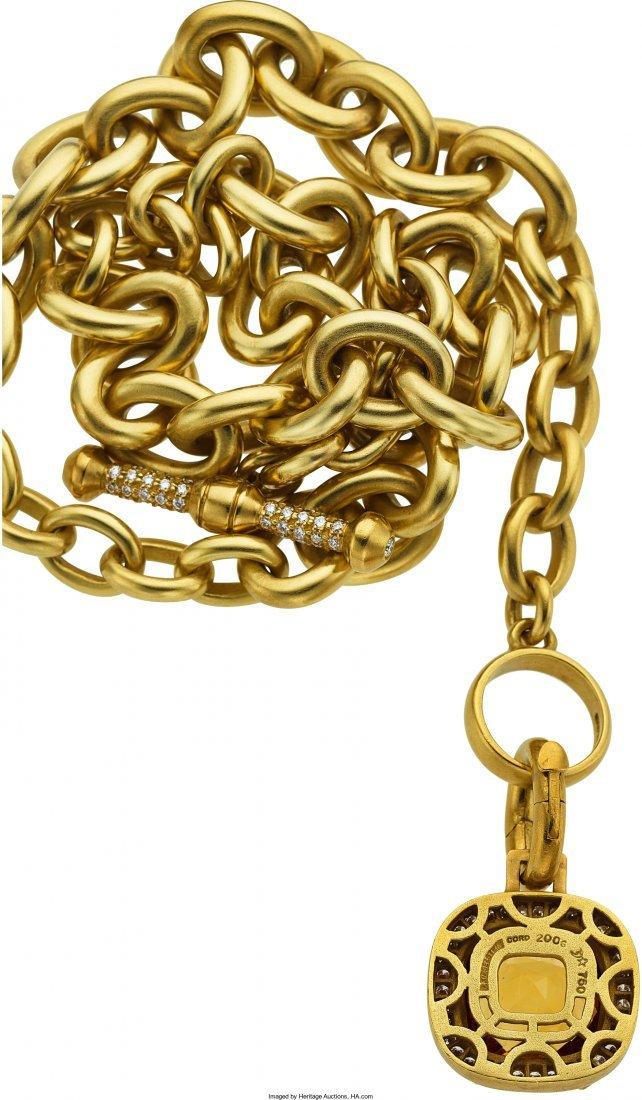 55021: Diamond, Citrine, Gold Jewelry, Kieselstein-Cord - 2