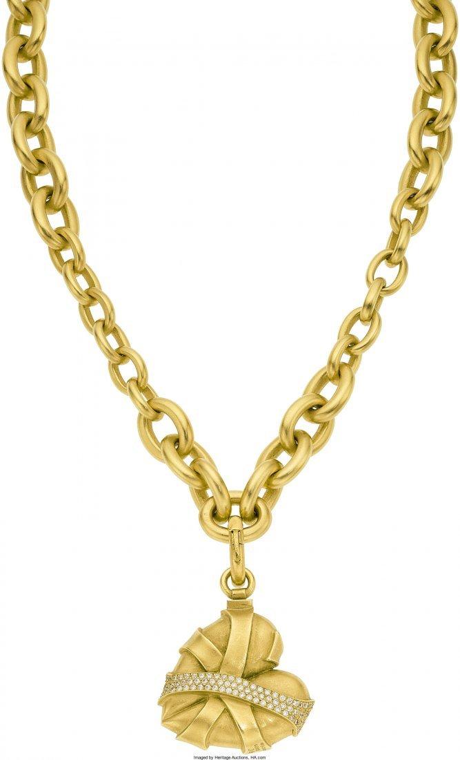 55021: Diamond, Citrine, Gold Jewelry, Kieselstein-Cord - 7