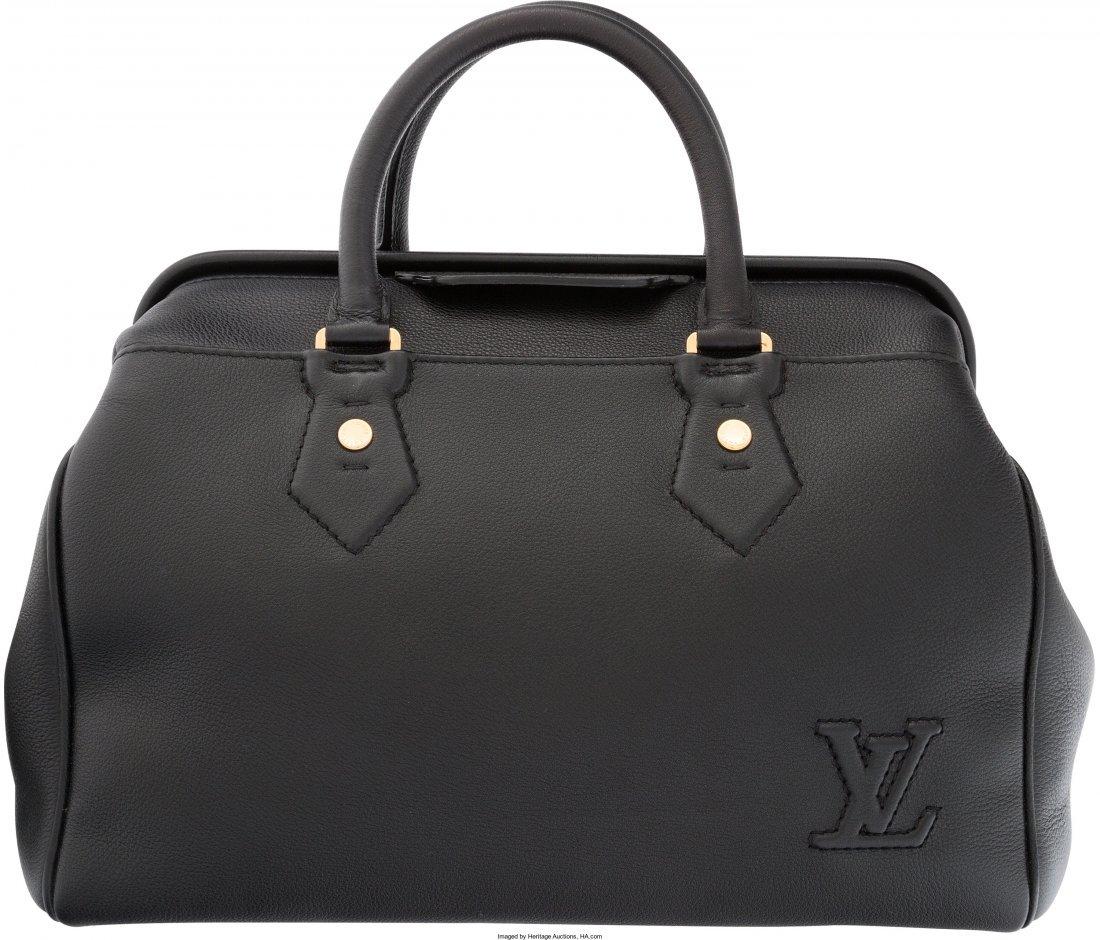 58035: Louis Vuitton Black Leather Defile Femme Intrigu - 2