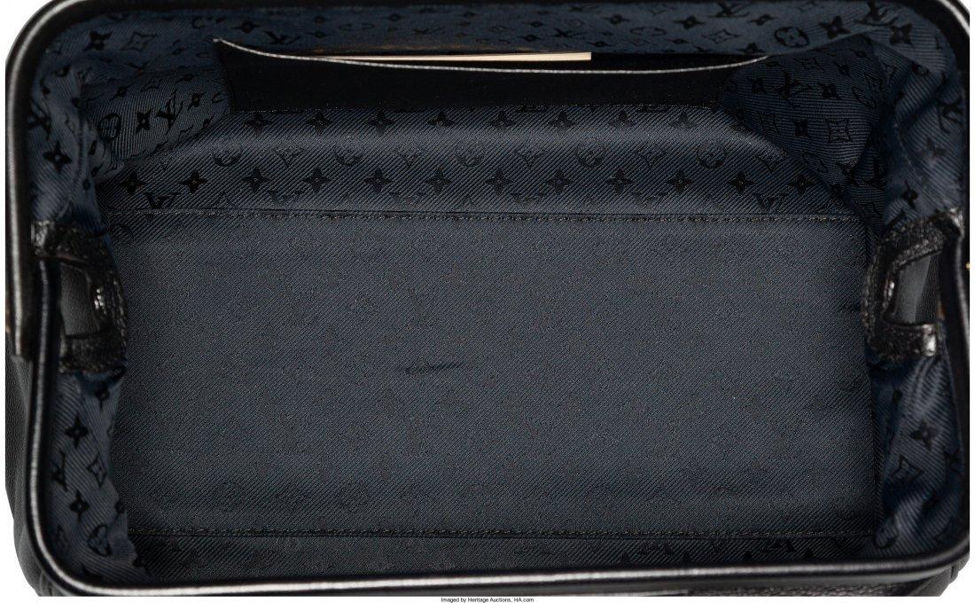 58035: Louis Vuitton Black Leather Defile Femme Intrigu - 4