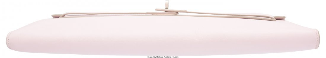 58109: Hermes Rose Dragee Swift Leather Kelly Longue Cl - 3