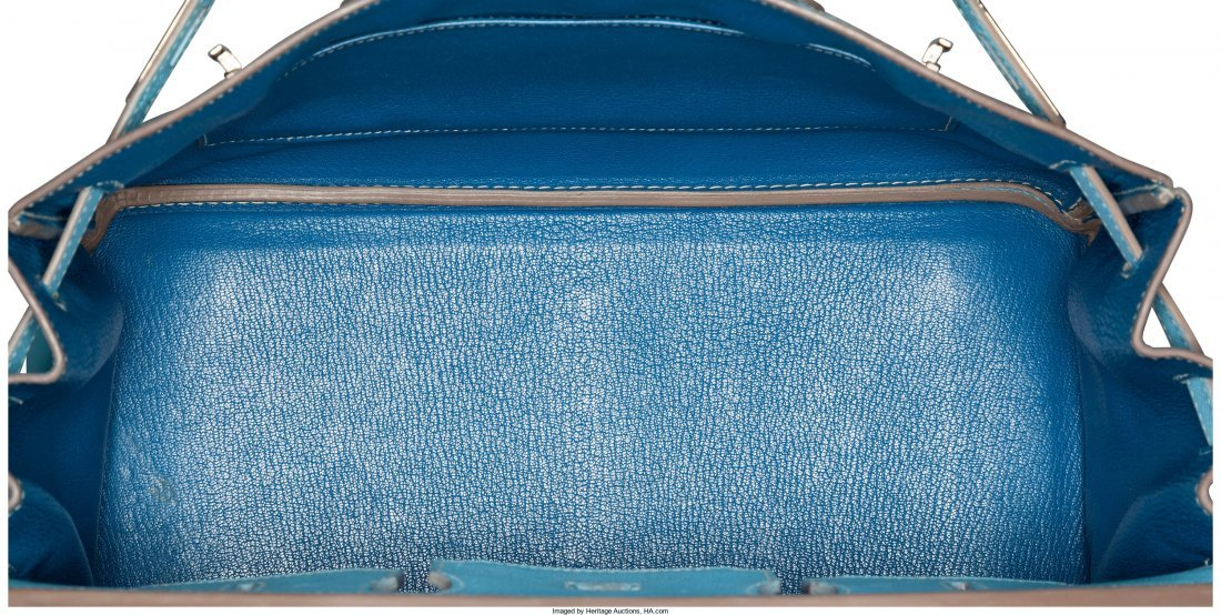 58079: Hermes Limited Edition Candy Collection 35cm Blu - 2