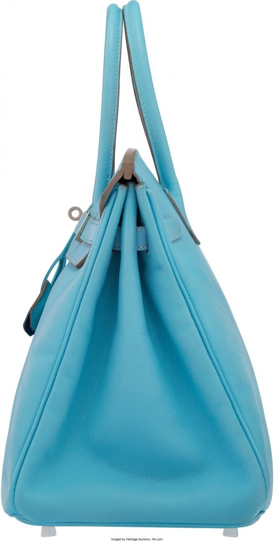 58079: Hermes Limited Edition Candy Collection 35cm Blu - 3