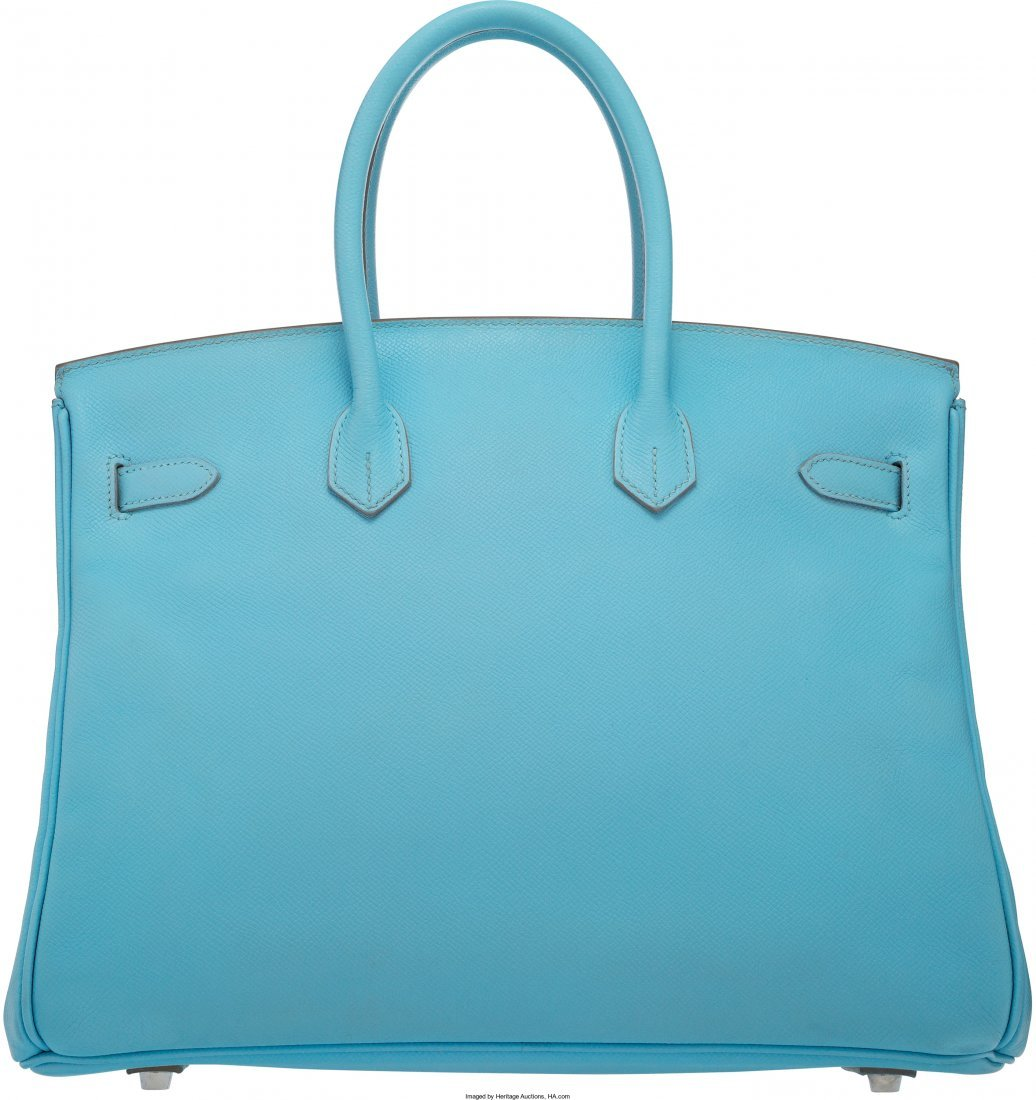 58079: Hermes Limited Edition Candy Collection 35cm Blu - 5