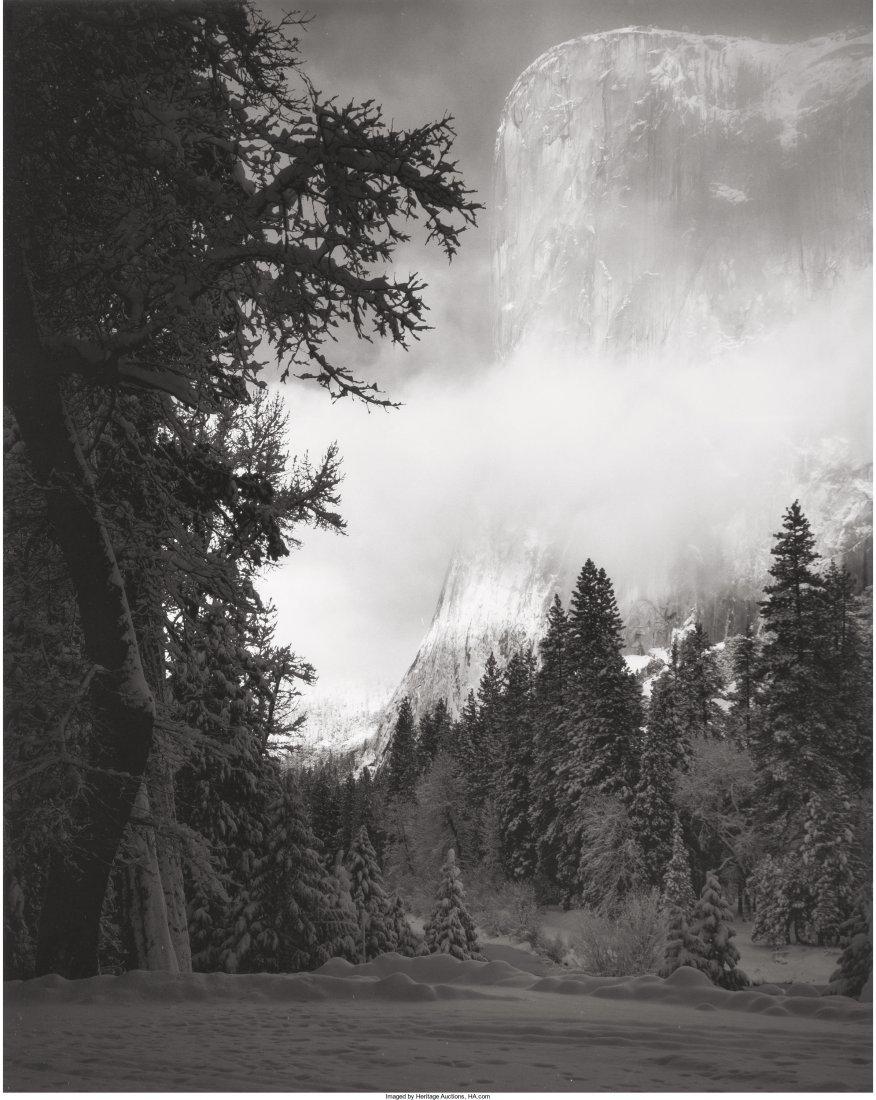 73003: Ansel Adams (American, 1902-1984) El Capitan, Su