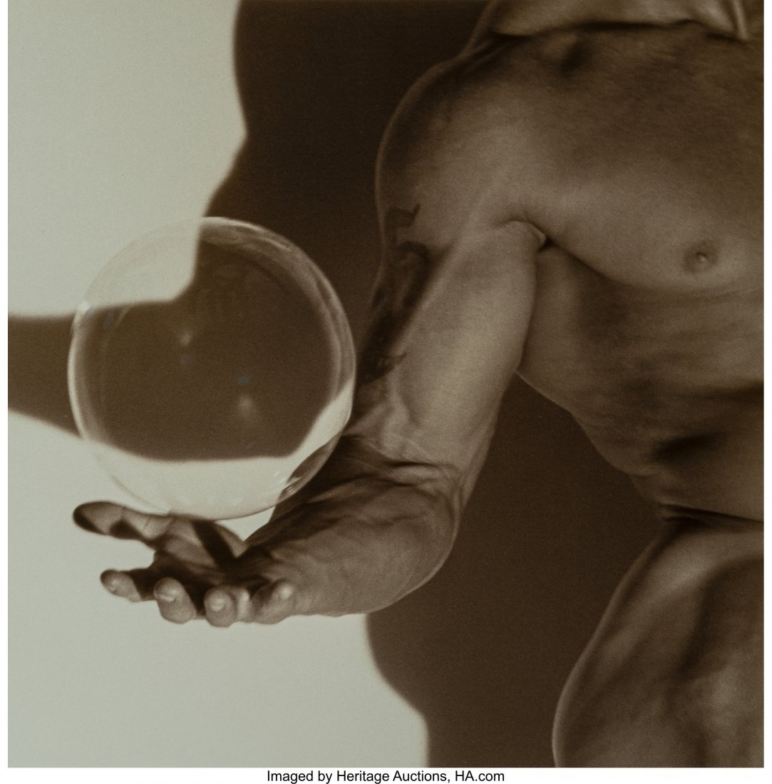 73206: Herb Ritts (American, 1952-2002) Suspended Bubbl