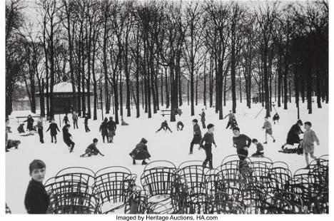73153: Edouard Boubat (French, 1923-1999) Jardin du Lux