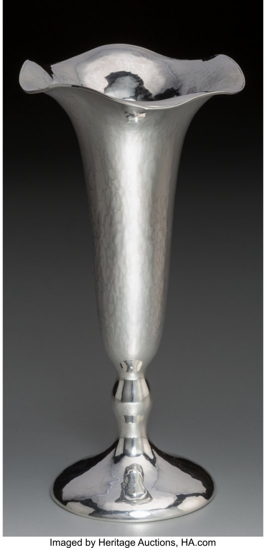 74363: A Small Clemens Friedell Weighted Silver Vase, P
