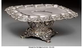 74149 A Tiffany  Co Chrysanthemum Pattern Silver Taz
