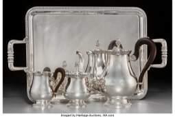 A Four-Piece Christofle Malmaison-Beauharnais Pa