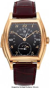 54088: Patek Philippe Important & Extremely Rare Ref. 5