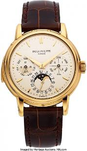 54093: Patek Philippe Very Rare And Important Ref. 3974