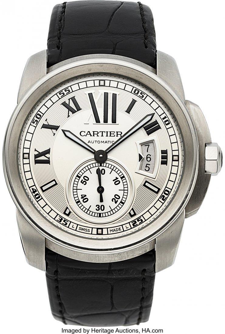 54049: Cartier Gent's Calibre de Cartier Ref. 3299 Auto