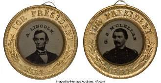 43054: Lincoln & Johnson and McClellan & Pendleton: A L
