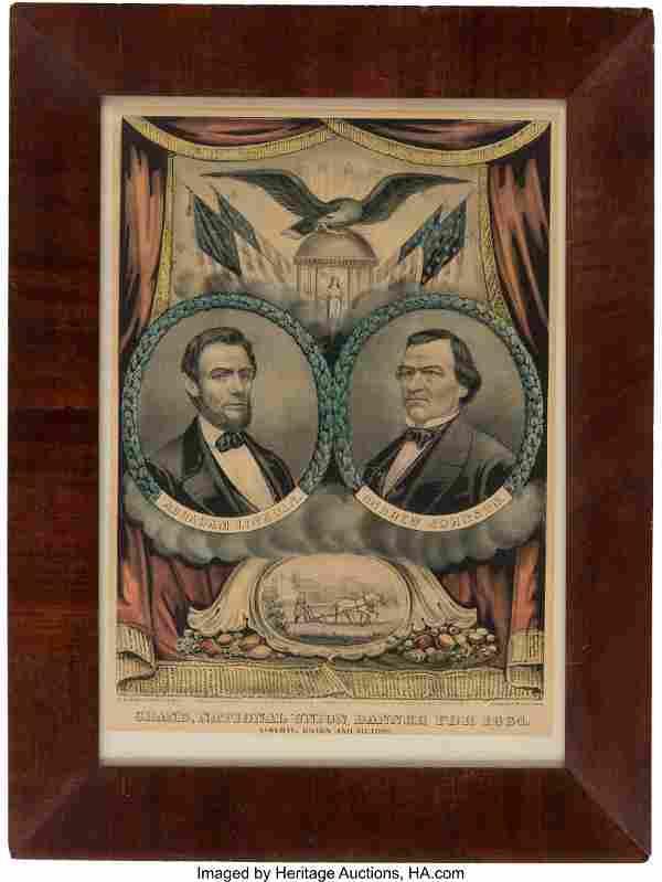 Lincoln & Johnson: Jugate Grand National Banner.