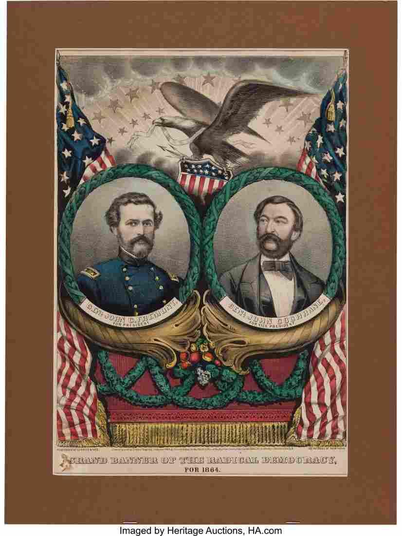 43096: Frémont & Cochrane: Jugate Grand National Banne