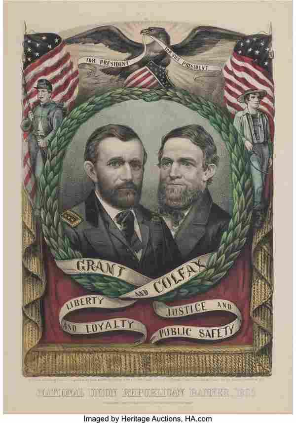 Grant & Colfax: Jugate Grand National Banner. La