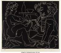 77092: Pablo Picasso (1881-1973) Le peintre et son modÃ