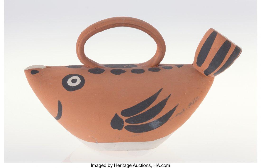77102: Pablo Picasso (1881-1973) Sujet poisson, 1952 Re