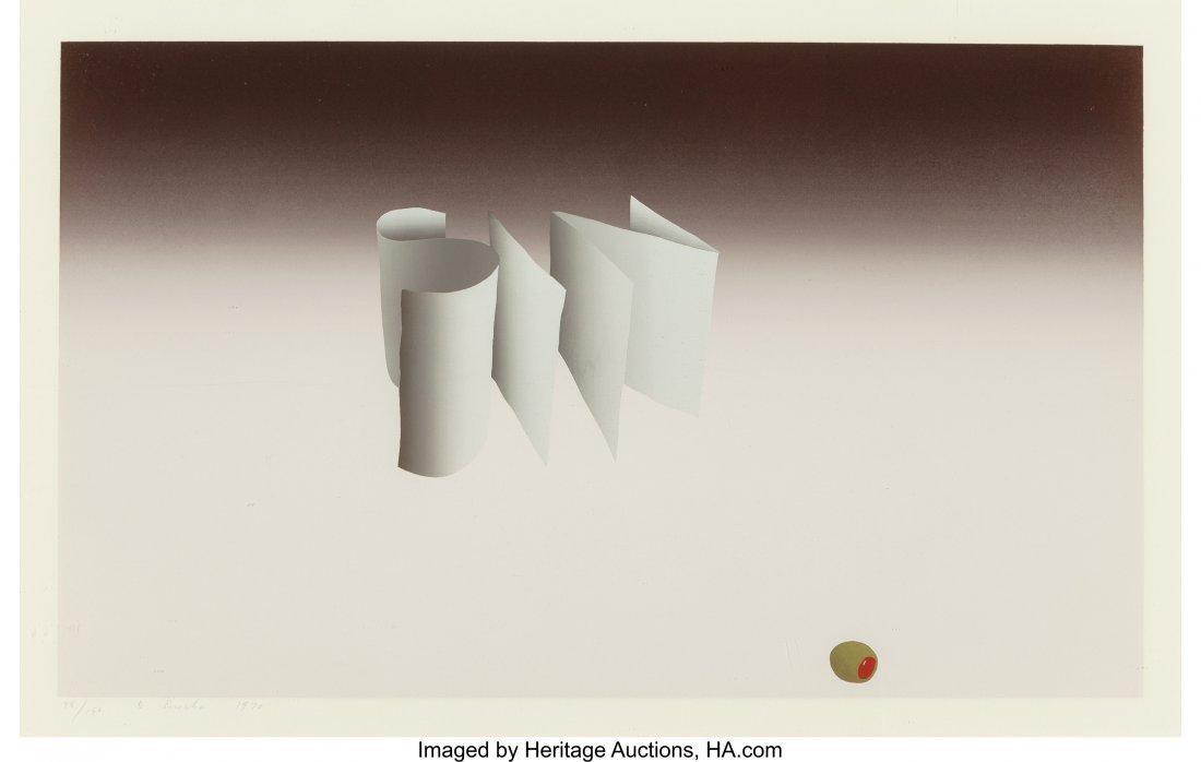 77122: Ed Ruscha (b. 1937) Sin, 1970 Screenprint in col