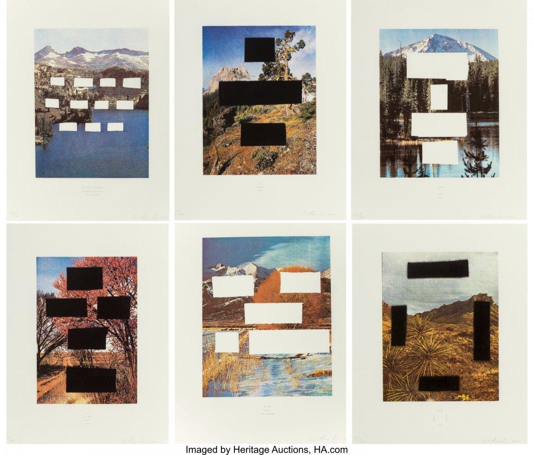 77123: Ed Ruscha (b. 1937) Country Cityscapes, portfoli