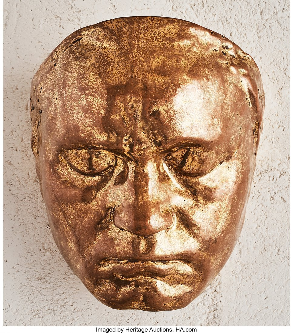79126: Galileo Chini (Italian, 1873-1956) Golden Mask,