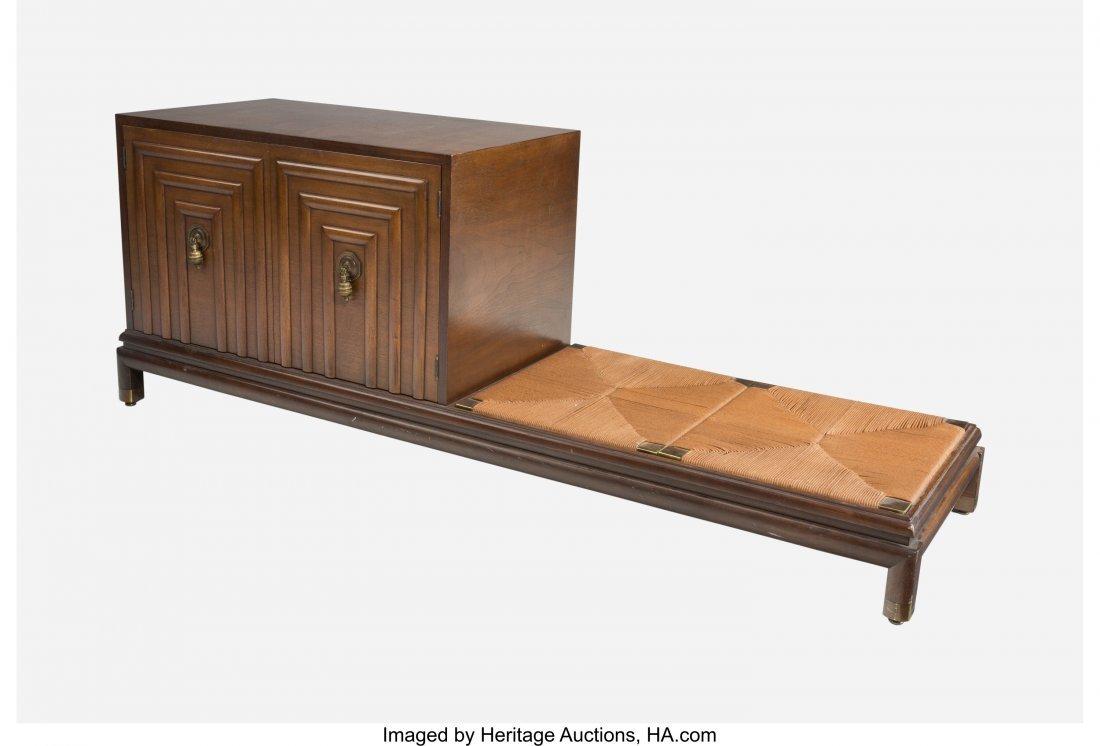 79376: Renzo Rutili (American, 1901-1966) Cabinet-bench
