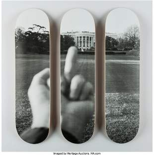 60001: Ai Weiwei (b. 1957) The White House, from Fuck O