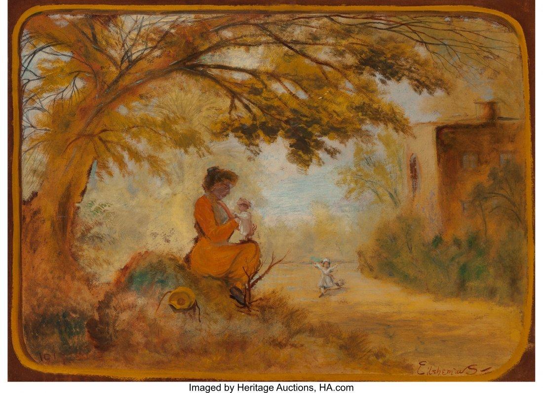 69131: Louis Michel Eilshemius (American, 1864-1941) Mo