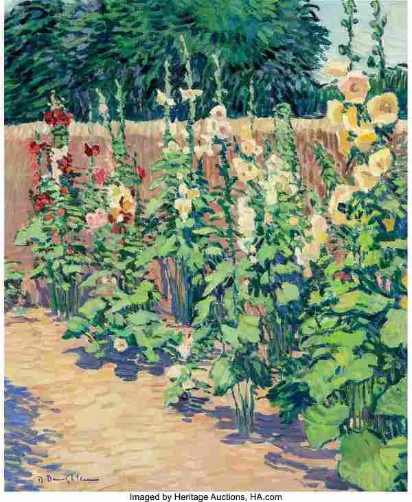 69014: Robert Daughters (American, b. 1929) Hollyhock G