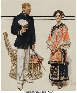 69206: Joseph Christian Leyendecker (American, 1874-195