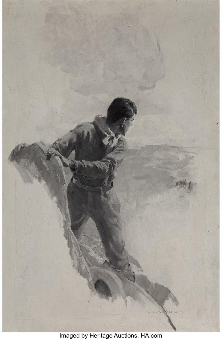 "69017: William Herbert Dunton (American, 1878-1936) ""Th"