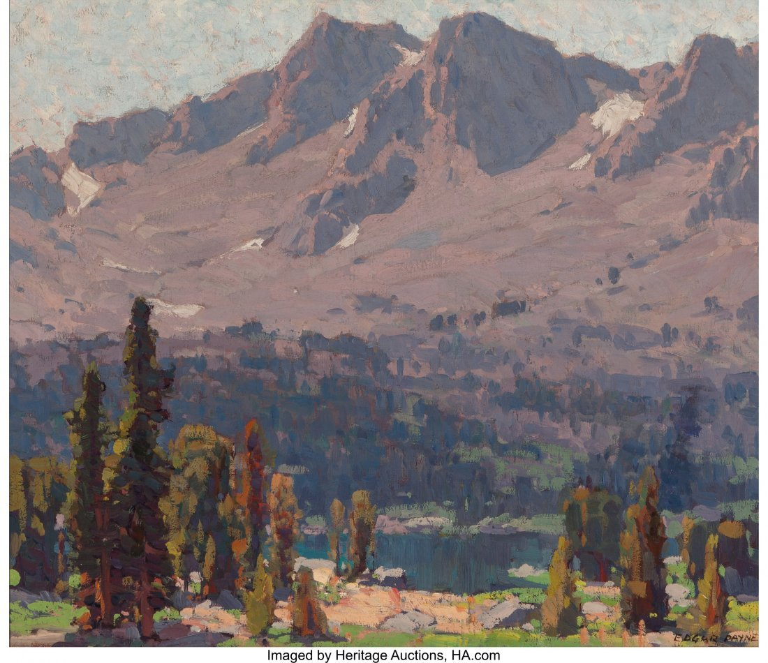 69078: Edgar Alwin Payne (American, 1883-1947) High Sie