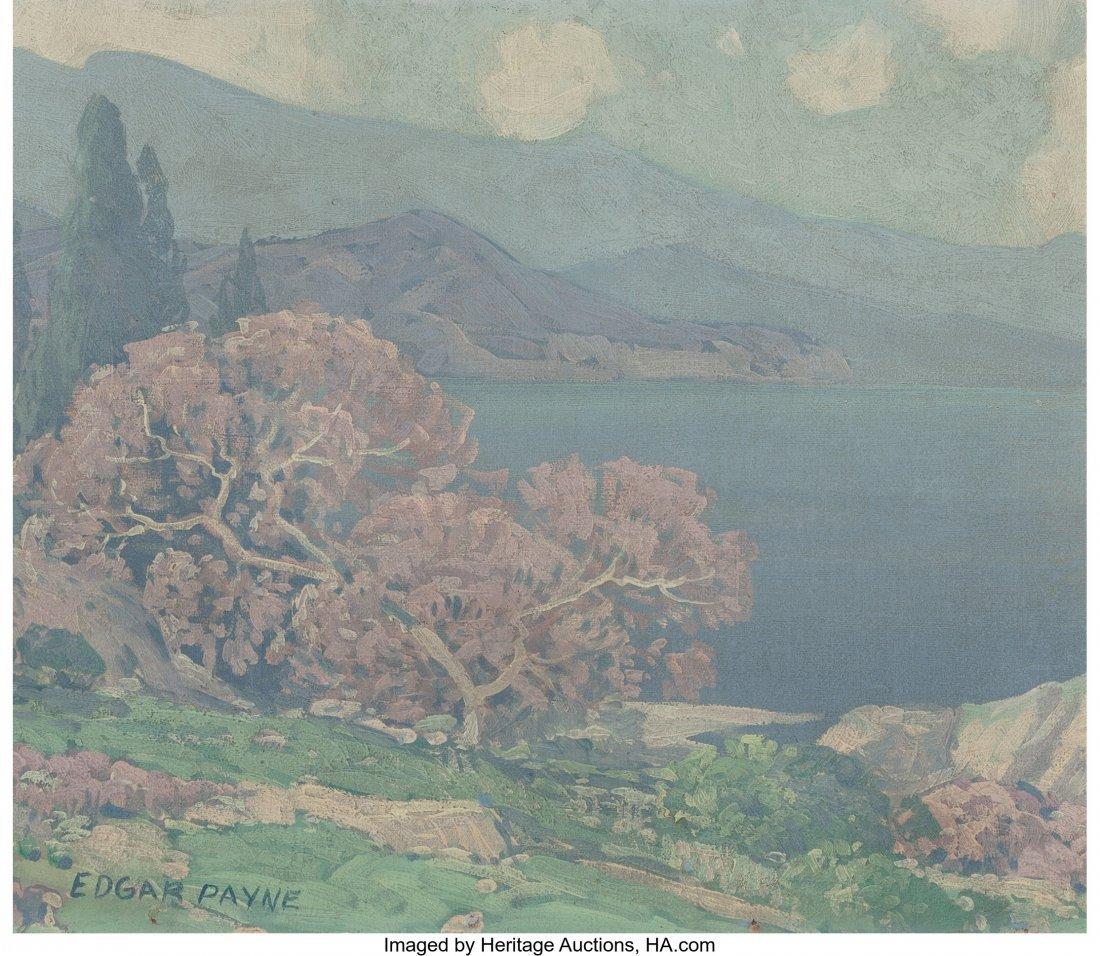 69079: Edgar Alwin Payne (American, 1883-1947) Crater L