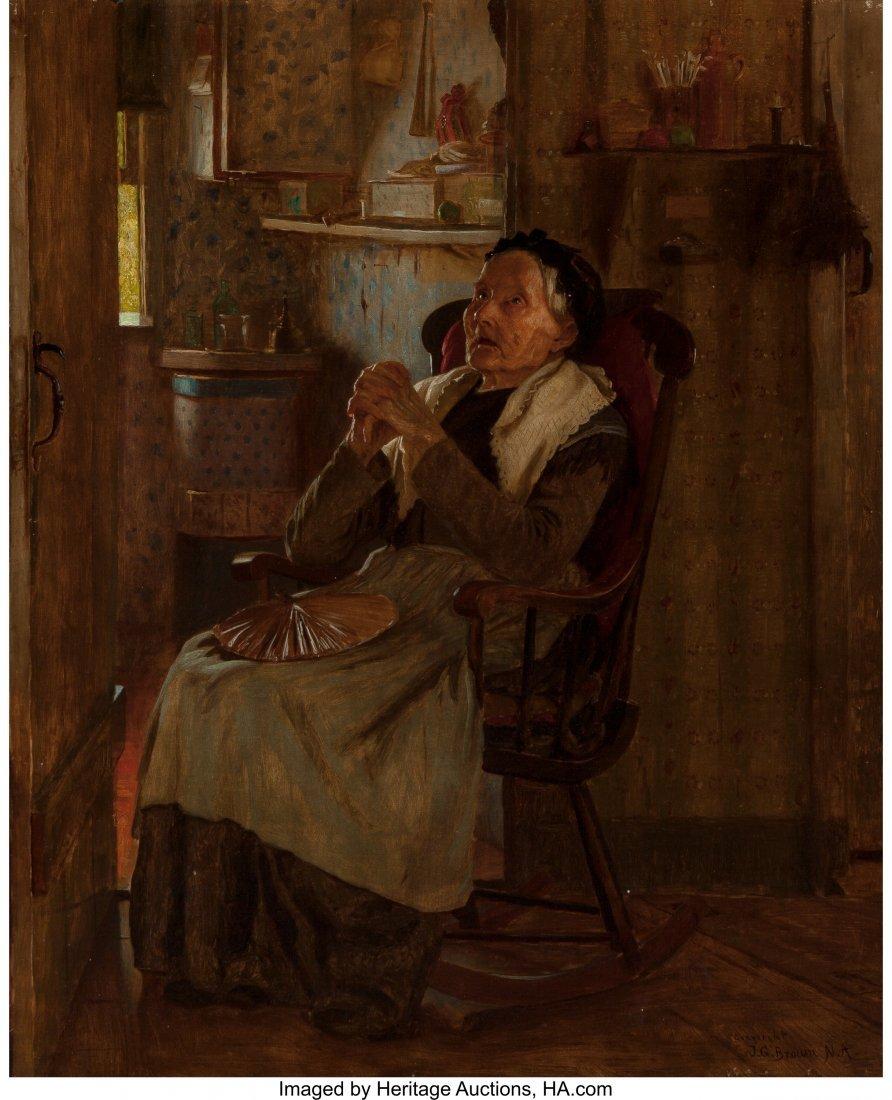 69090: John George Brown (American, 1831-1913) 'Twas Lo