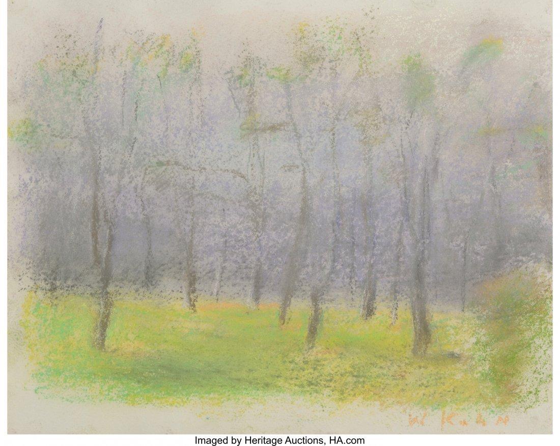 69158: Wolf Kahn (American, b. 1927) Tree Circle, 2002