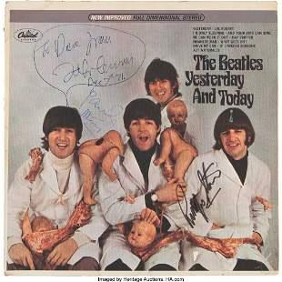"""89241: Beatles - John Lennon's Personal Stereo """"Butcher"""