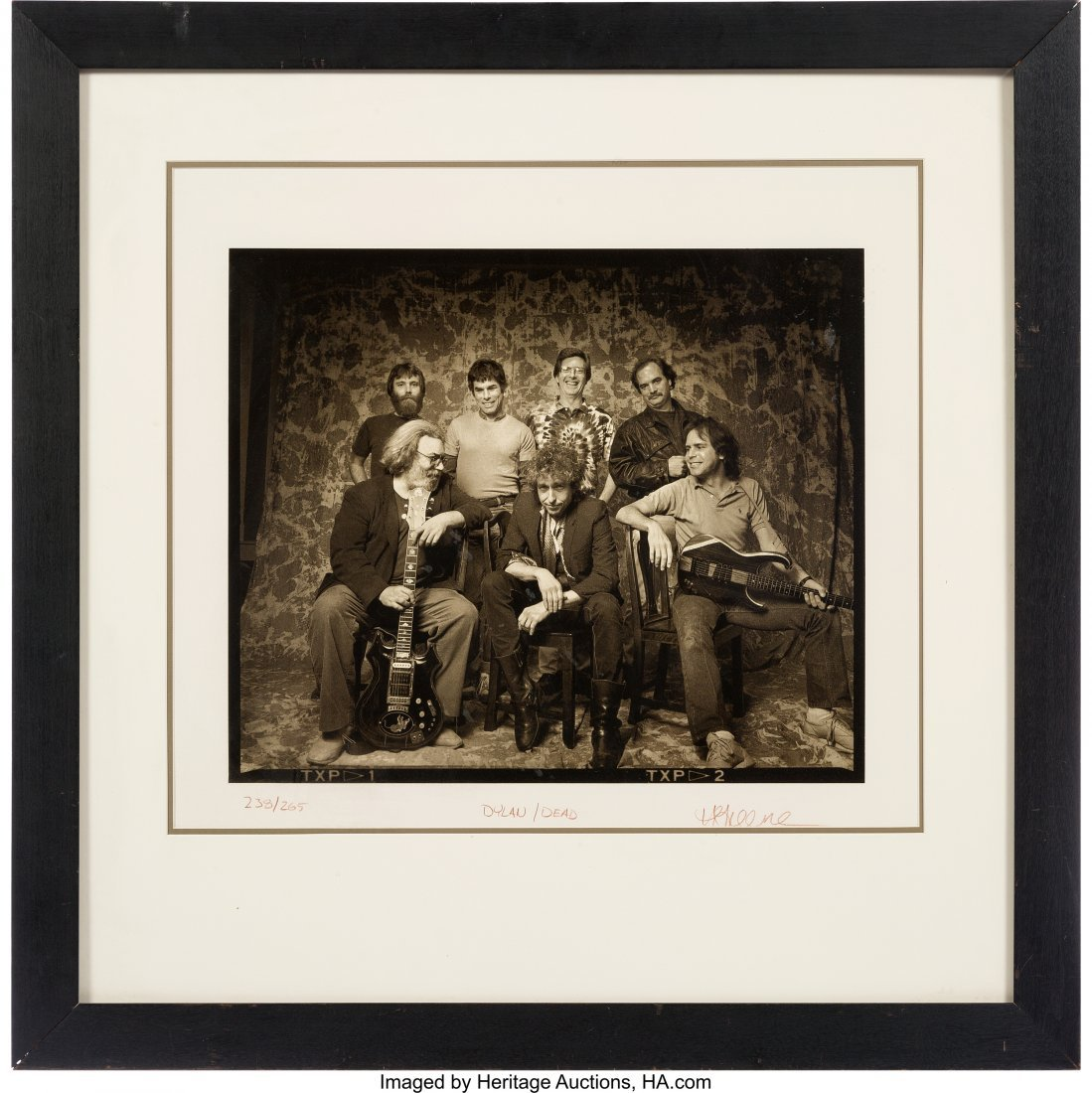 """89543: Grateful Dead and Bob Dylan - """"Dead and Dylan"""" L"""