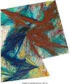 Mel Bochner (b. 1940) Torque, 1984 Oil on canvas