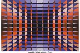 Yvaral (Jean-Pierre Vasarely) (1934-2002) Struct