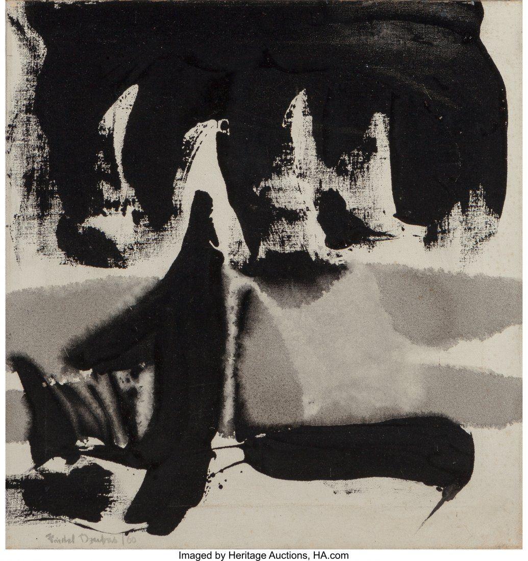 Friedel Dzubas (1915-1994) Untitled, 1960 Acryli