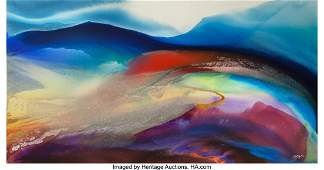 Paul Jenkins (1923-2012) Phenomena Outside Isfaf