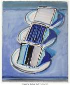 69015: Wayne Thiebaud (b. 1920) Three Cake Slices, 2008