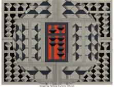Yoshio Sekine (1922-1988) No. 369, 1974 Oil on c